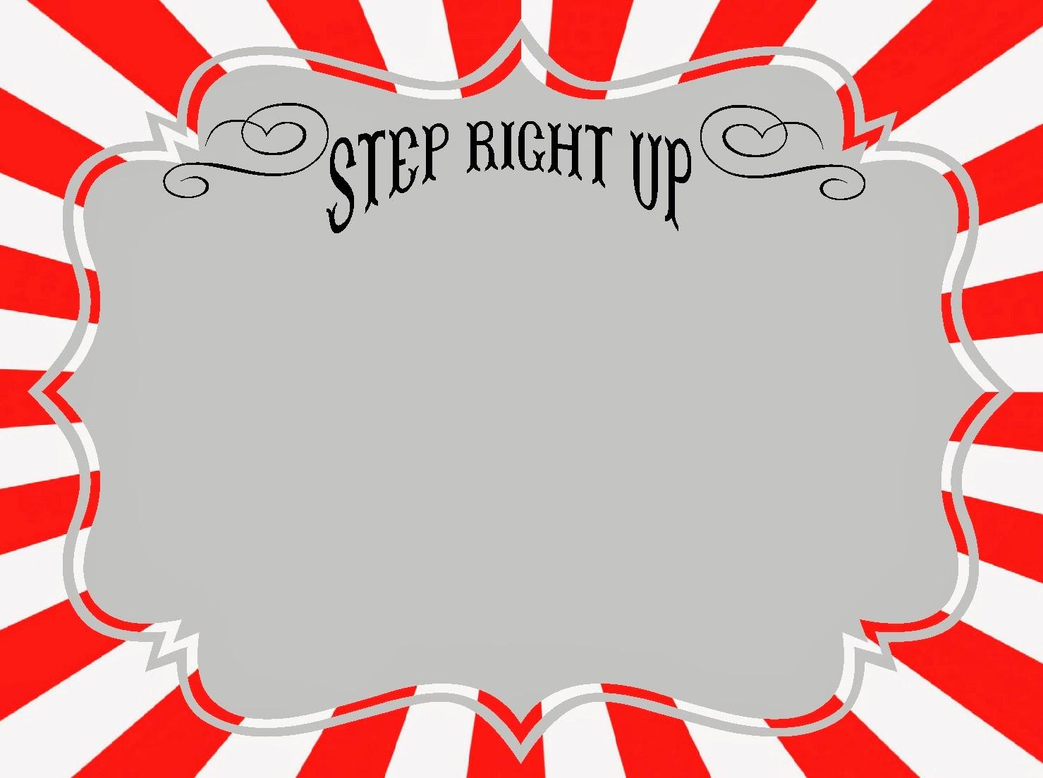 circus sign template -#main
