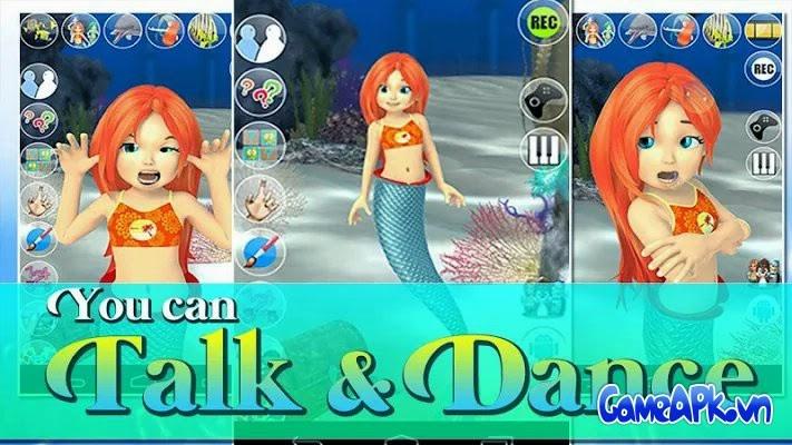 Talking Mermaid Princess v1.2 APK Full cho Android