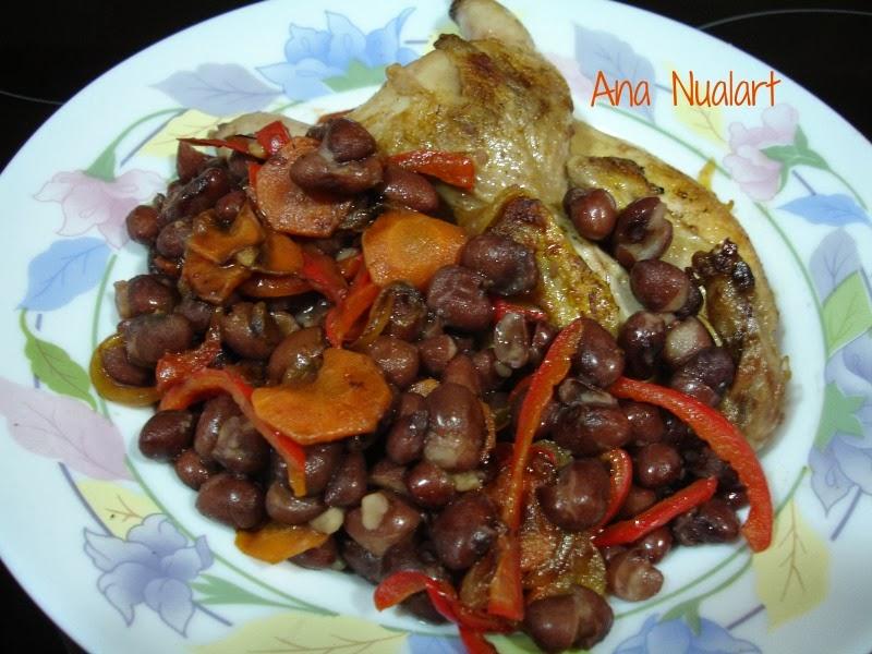 La cocinera de b tulo alubias de tolosa con codornices - Alubias con codornices ...