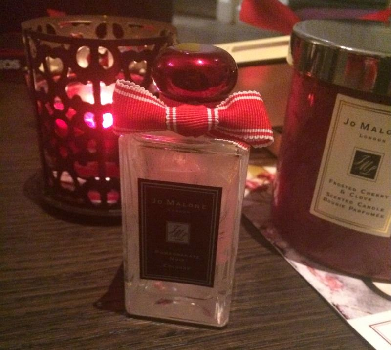 Jo Malone Frosted Cherry and Clove Deluxe Candle Christmas 2014