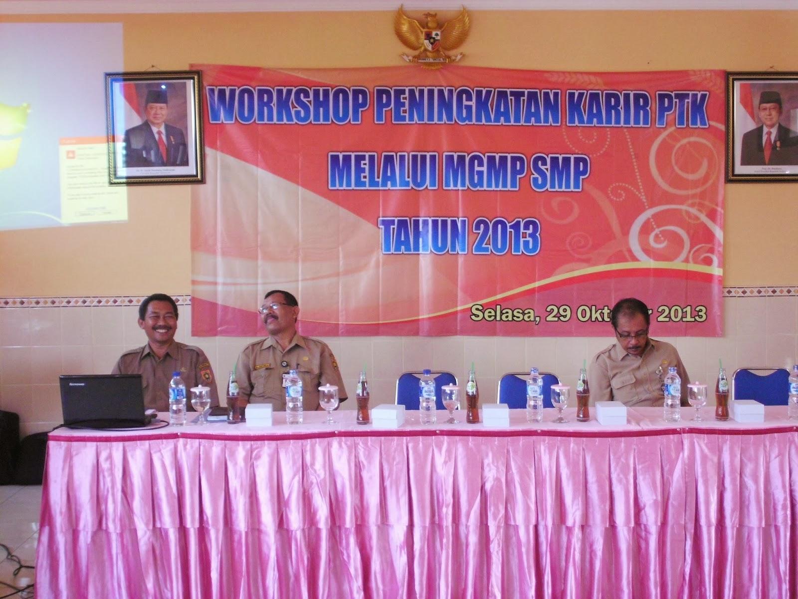 Workshop Pengembangan Karier Ptk Mgmp Penjasorkes Tahun 2013 Fajar Guru