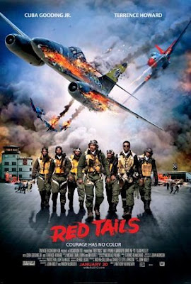 Red Tails (2012). movie poster pelicula
