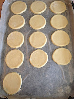 ThatRedheadSaid : Baking with Duerr's : Jammy Biscuits prep