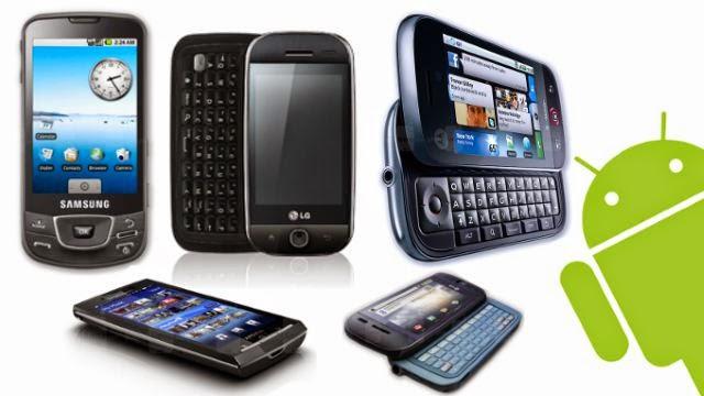 Những điện thoại Android đầu tiên thế giới