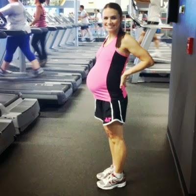 Тренировка для беременных в тренажерном 31