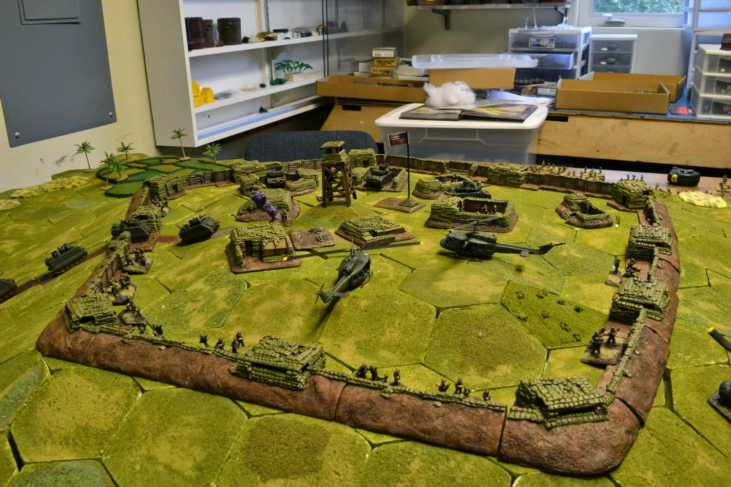 Review Hallowed Ground Terrain Firebase Trench System