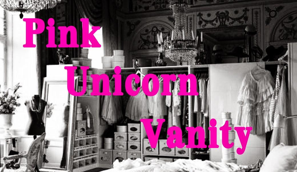 Pink Unicorn Vanity