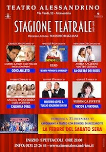 Teatro Alessandrino Calendario Spettacoli