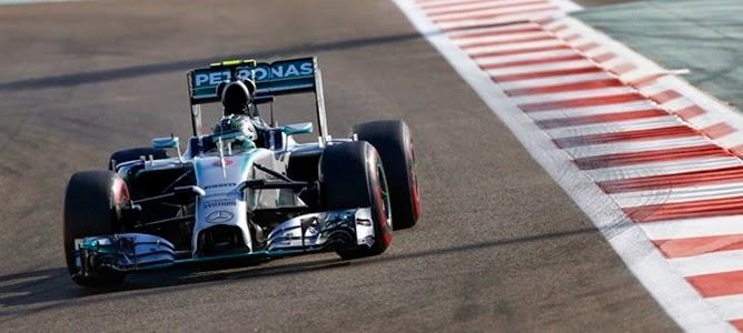 Nico Rosberg se quedó con la pole position en el Gran Premio de Abu Dhabi
