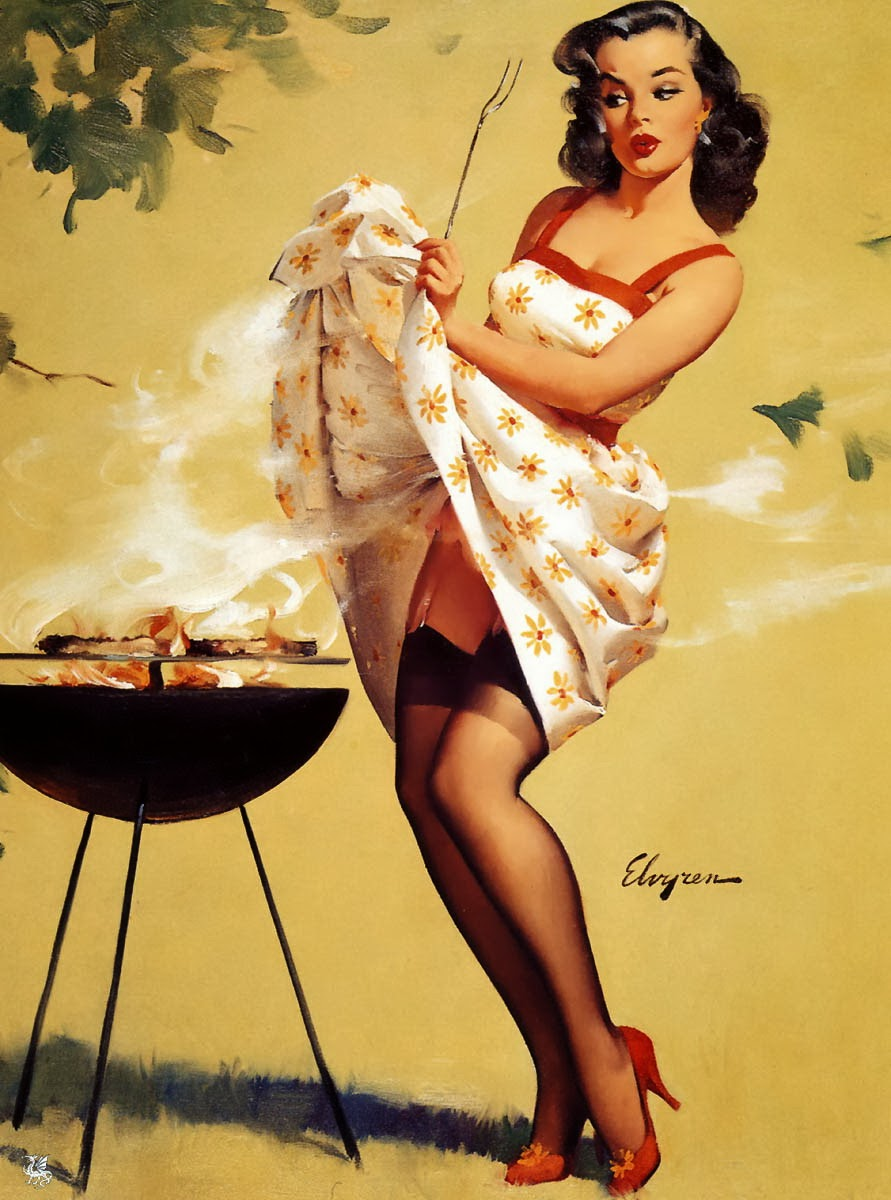 Pin Up Grill Masters – Pin Up and Cartoon Girls Art ...