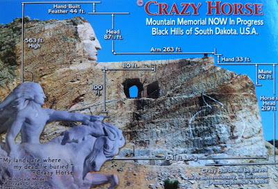 U S A Postman Crazy Horse Memorial World S Largest