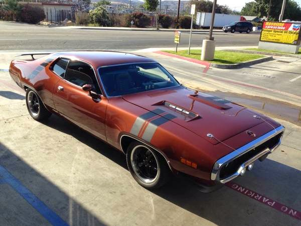 road runner 1971 muscle - photo #41
