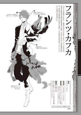 Bungaku Danshi Autores occidentales bishonen - Kafka