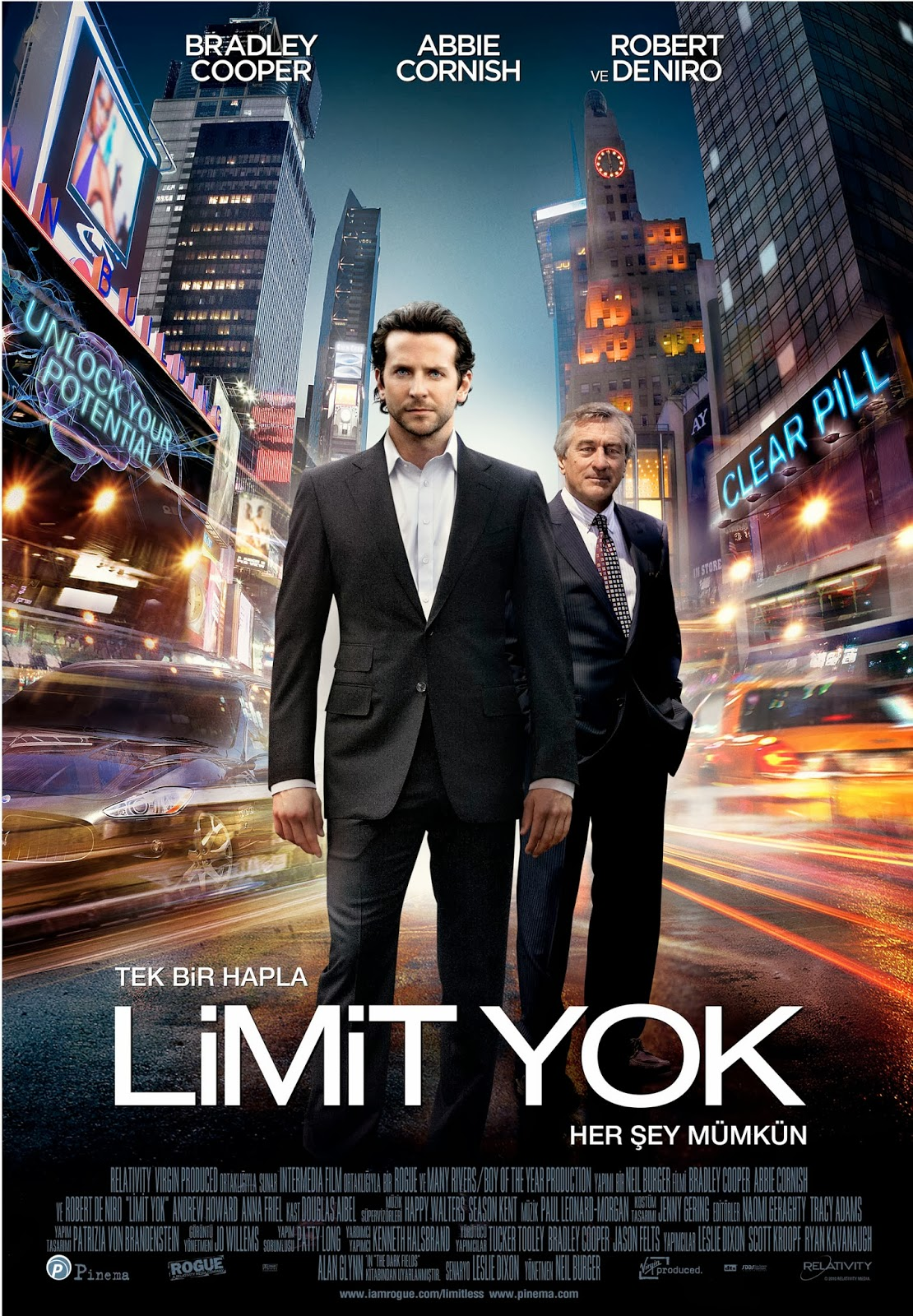 Limit Yok - Limitless 2011 Türkçe Dublaj Film İndir