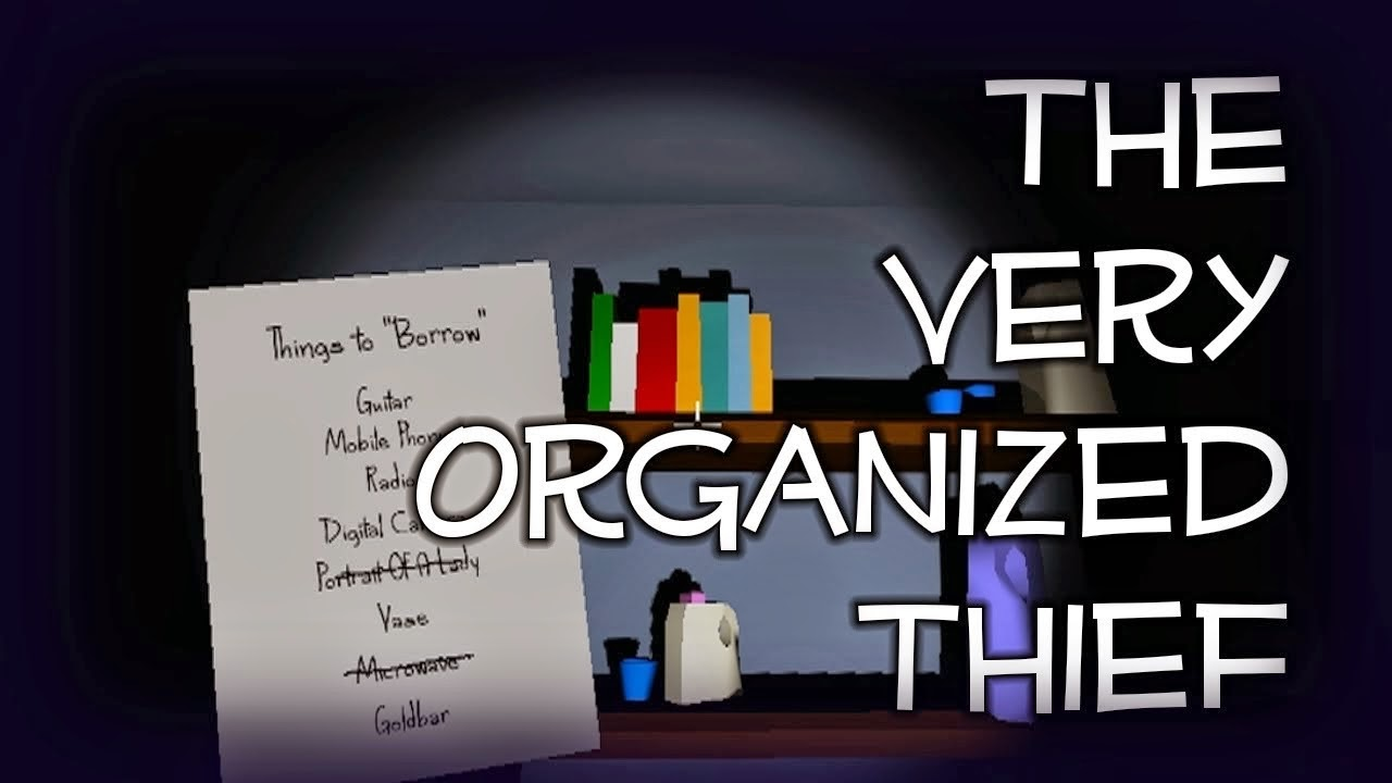 the very organised thief download pc