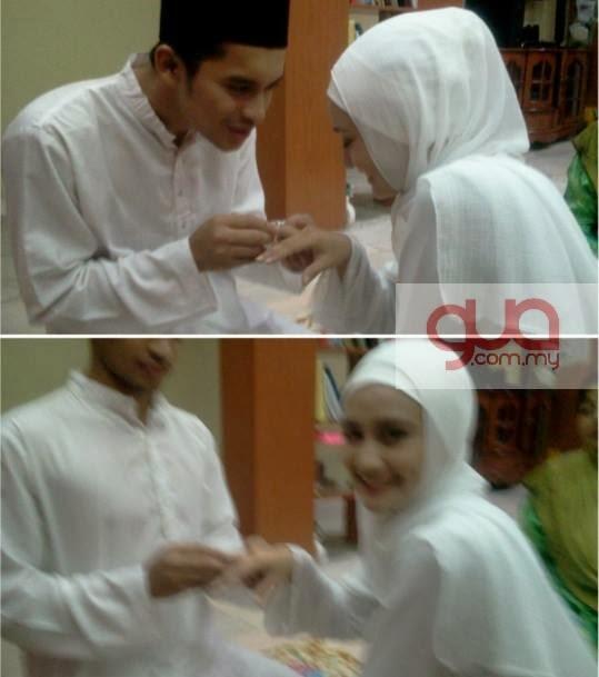 gambar nikah pernikahan kahwin perkahwinan aeril zafrel wawa zainal