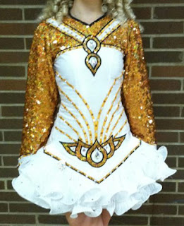 Irish dance solo dress  available on www.dance-again.com