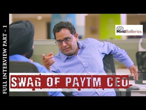 Paytm CEO Vijay Shekhar Sharma