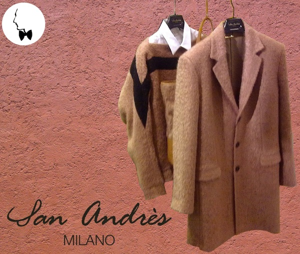 San Andrès Milano - Men collection - Fall Winter 2013 - Luis Barragàn inspiration