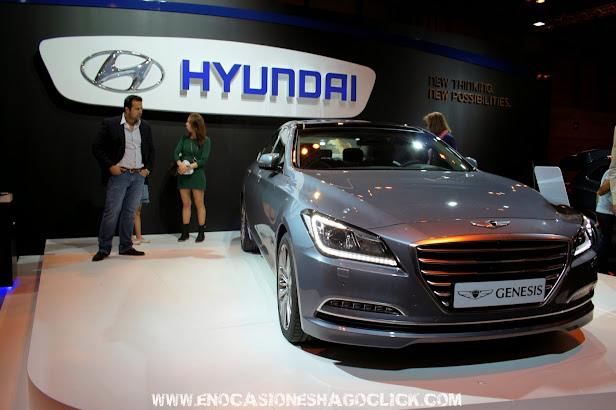 Hyundai Genesis en Salon del Automovil de Madrid 2014
