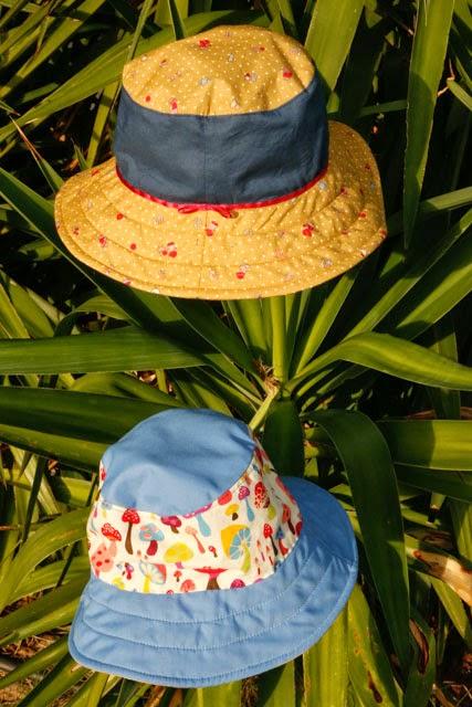 One Little Imp  Oliver + S Reversible Bucket Hat 4bb08499d96