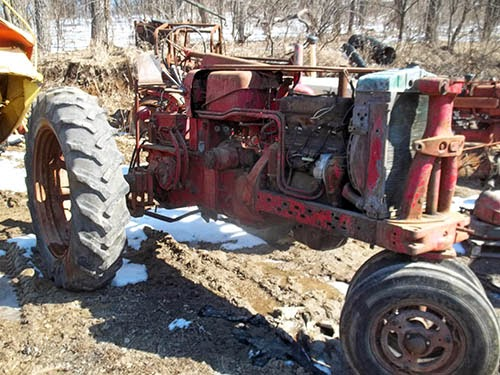 International 400 tractor parts