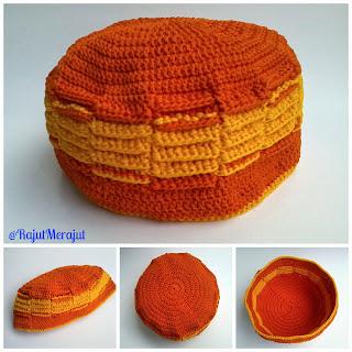 Peci Rajut, Fez Cap, Crochet Hat, Crochet Fez