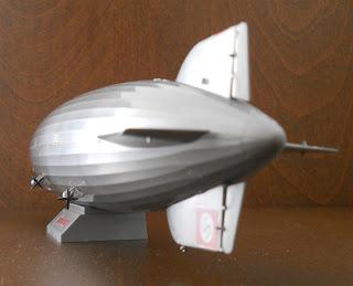 maqueta revell del zeppelin lz 129 Hindenburg