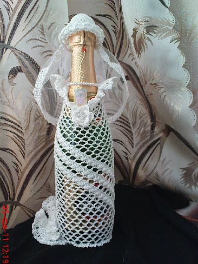 Свадебные аксессуары вязаные крючком