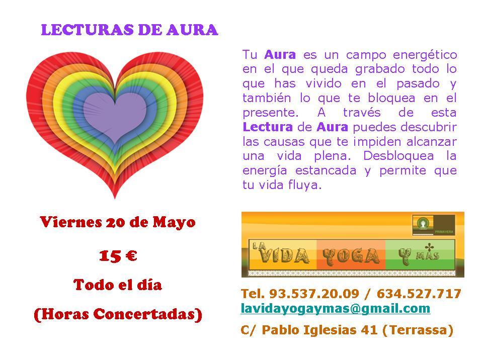 ESPACIO INTERIOR VILADECAVALLS: Día de la Lectura de Aura