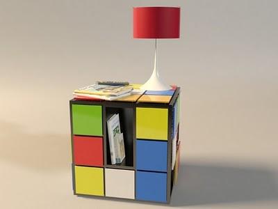 Mesa de Café en forma de Cubos de Rubik | Decoraciones Cocinas