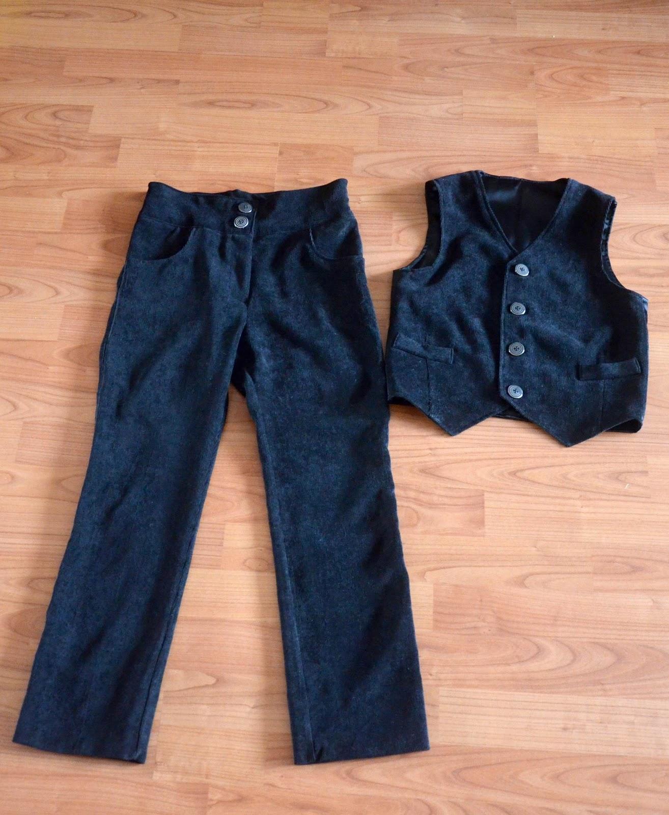 Как сшить детские брюки на мальчика своими руками для 18