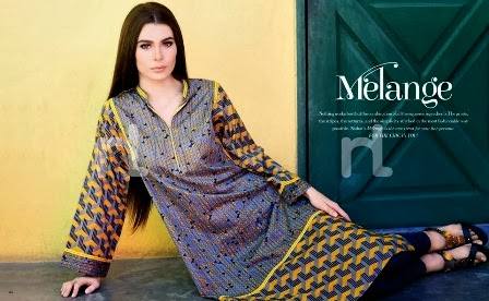 Latest Melange Lawn Collection