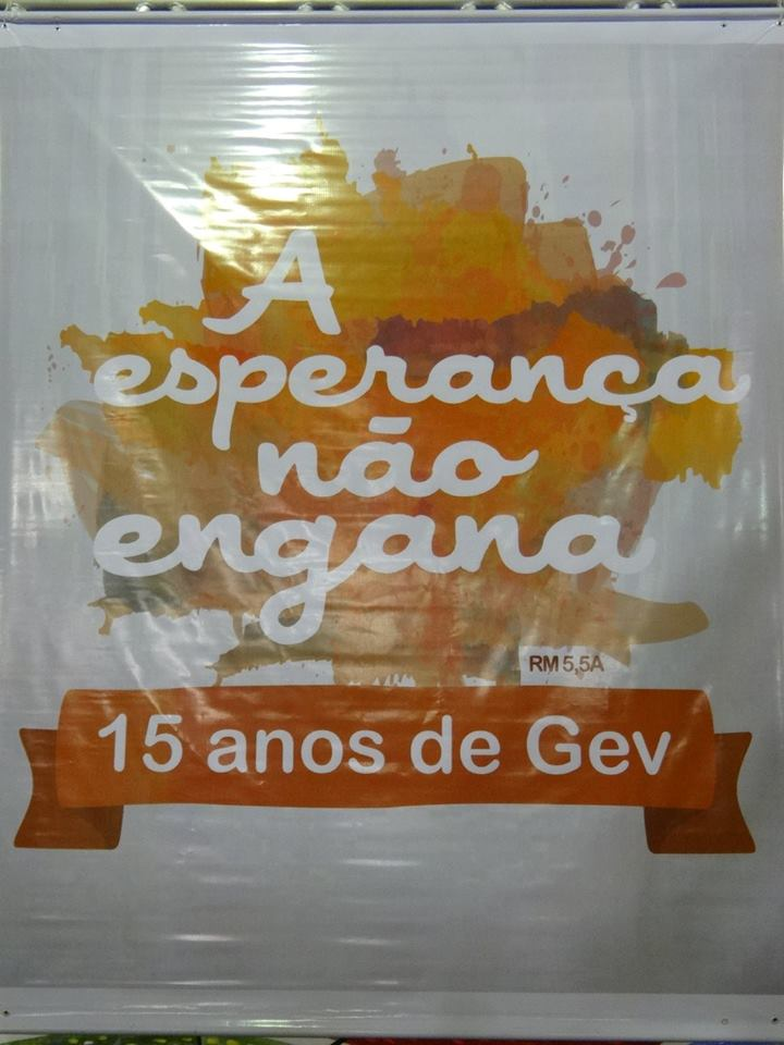 15 ANOS DO GEV