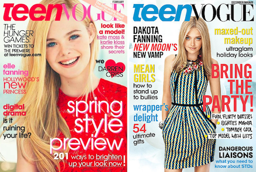 Dakota Elle Fanning Teen Vogue