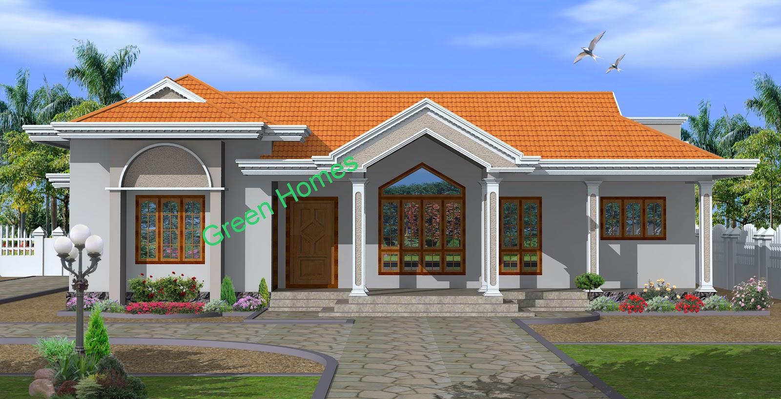 Green Homes Construction: Beautiful Kerala style home-2260 Sq.feet