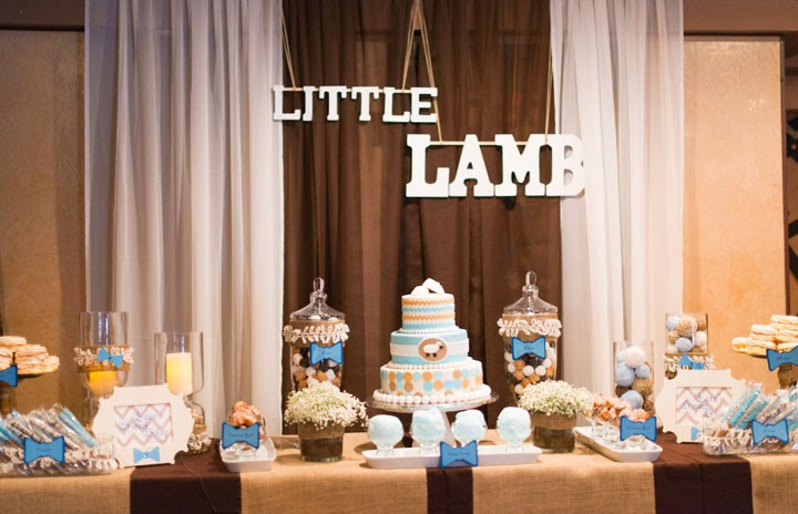 Inspired By The Storybook Nursery Rhyme, This Baby Shower With Earth Tones  And Soft, Wooly Textures Became..... Larau0027s Having A Little Lamb.