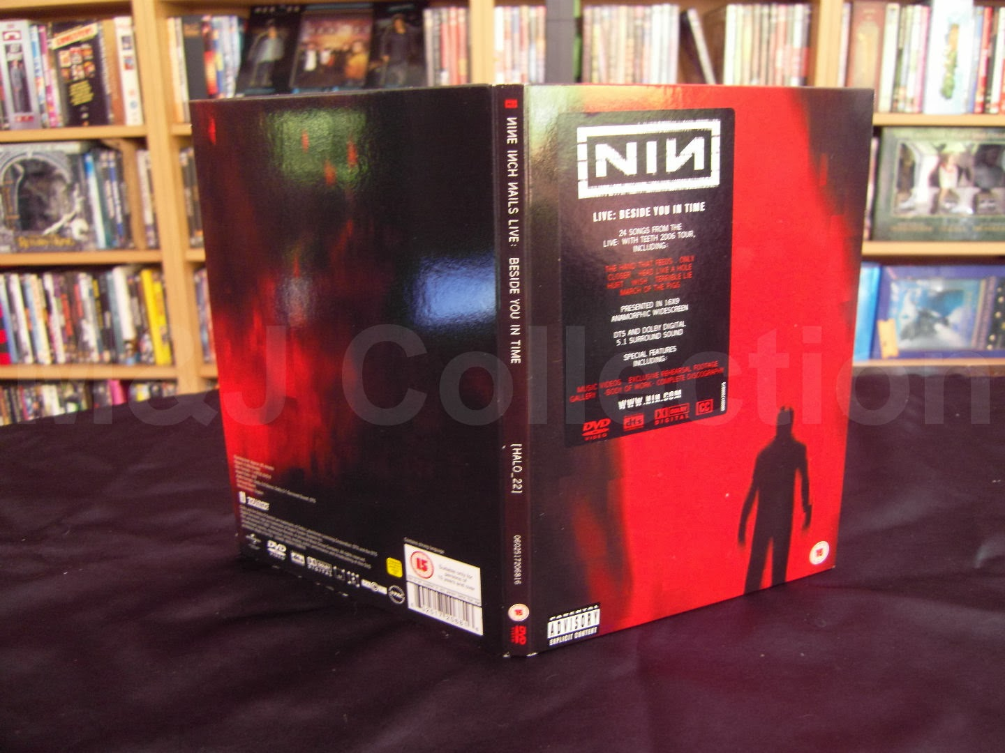 M&J\'s Collection: Nine Inch Nails Live: Beside You in Time