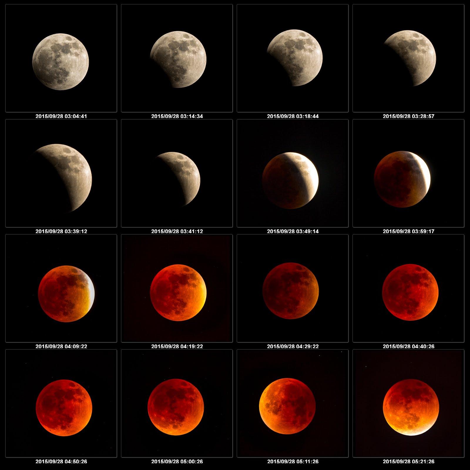 Całkowite zaćmienie Księżyca 28 września 2015