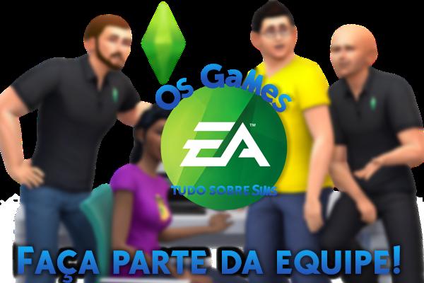 Faça parte da Equipe Os Games EA!
