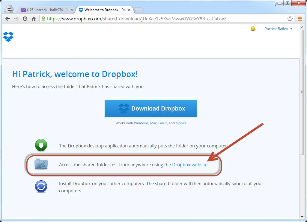 dropbox download mac