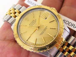 ROLEX TURN O GRAPH GOLD TAPERSTY DIAL - THUNDER BIRD - ROLEX 16253