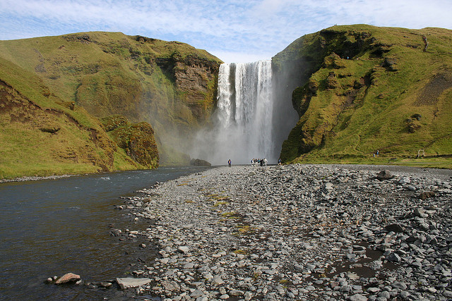 As belezas da Catarata de Skógafoss