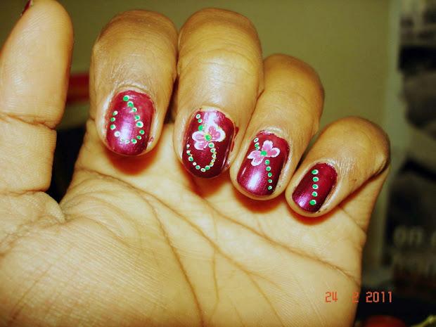 little google1 modern nail art