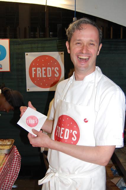 London Burger Bash - Fred Smith