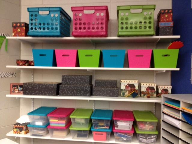 Classroom Shelves Ideas ~ Middle school math rules classroom photos part ii