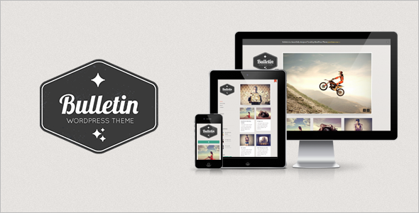 Bulletin v1.3 - Responsive Tumblog WordPress Theme