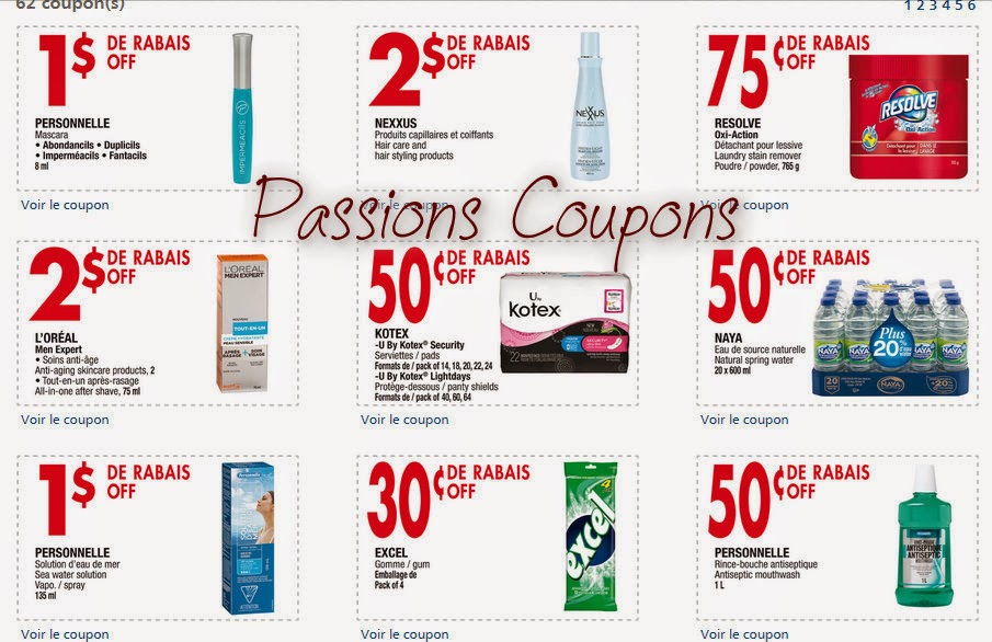 passions coupons coupons jean coutu mars 2015. Black Bedroom Furniture Sets. Home Design Ideas