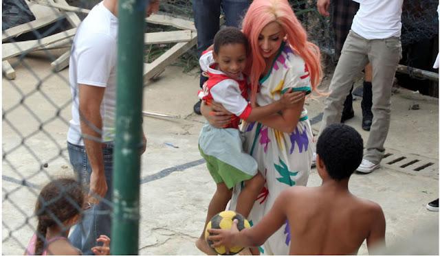 Lady Gaga no Brasil