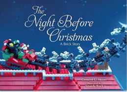 The Night Before Christmas: A Brick Story cover
